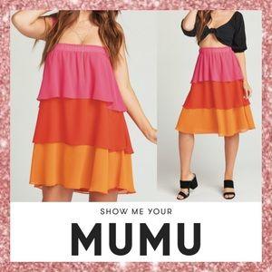 NWT Show Me Your Mumu Gabriela Skirt Dress Small S